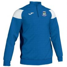 Crumlin United FC Joma Crewe III 1/4 Zip Sweatshirt Royal/White/Navy Adult  2019